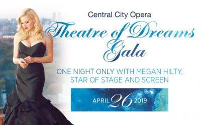 Central City Opera Announces 2019 Theatre of Dreams Gala featuring Megan Hilty