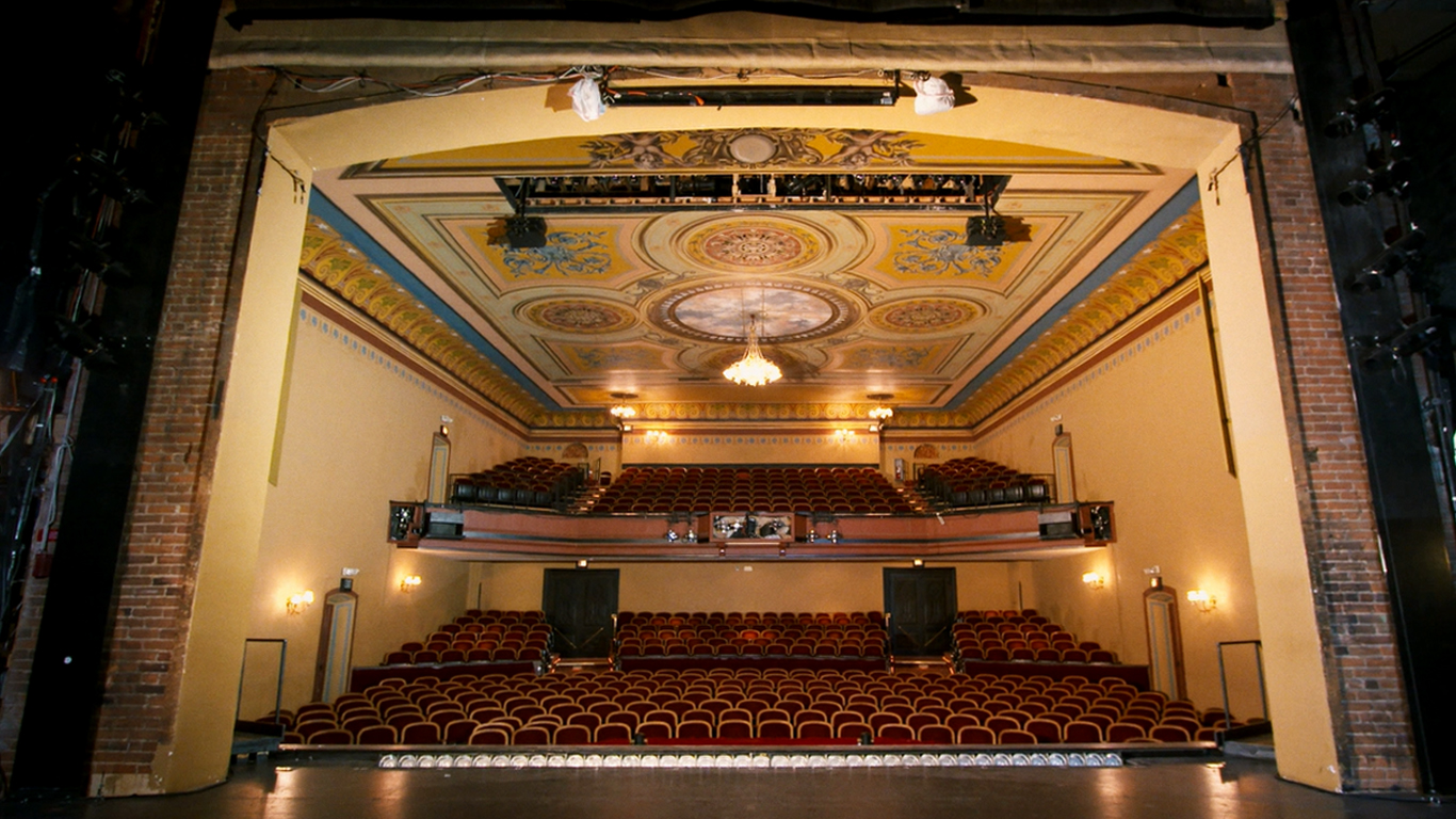 The interior of the Central City Opera House