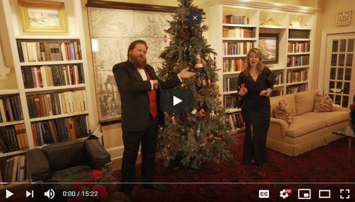 The 44th Annual L'Esprit de Noël Holiday Home Tour Goes Virtual